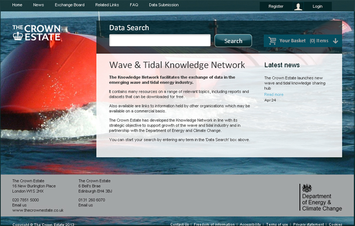 Wave and Tidal Knowledge Network